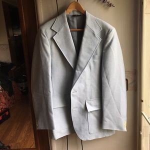 Other - 80s baby blue blazer M/L